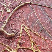 """Картины и панно ручной работы. Ярмарка Мастеров - ручная работа """"Дыхание осени"""" диптих-коллаж.. Handmade."""