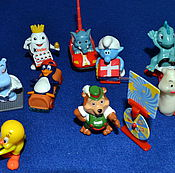 Куклы и игрушки ручной работы. Ярмарка Мастеров - ручная работа Игрушки из киндер сюрпризов. Handmade.