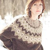 Одежда ручной работы. Ярмарка Мастеров - ручная работа Толстый-претолстый свитер. Handmade.