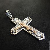 Украшения handmade. Livemaster - original item cross: Silver cross