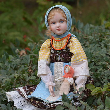 Dolls & toys handmade. Livemaster - original item Сollection dolls. Handmade.