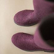 Обувь ручной работы. Ярмарка Мастеров - ручная работа Сапоги войлочные. Handmade.