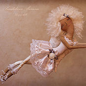 """Куклы и игрушки ручной работы. Ярмарка Мастеров - ручная работа """"Ангел сновидений"""" - авторская кофейная куколка. Handmade."""