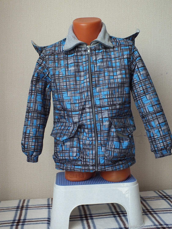 Куртка демисезонная, удлиненная, Одежда для мальчиков, Челябинск, Фото №1