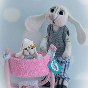 Куклы и игрушки handmade. Livemaster - original item And of course the main dad when mom not home.... Handmade.