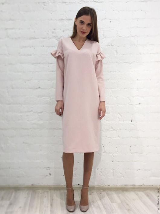 """Платья ручной работы. Ярмарка Мастеров - ручная работа. Купить Платье """"NUDE"""". Handmade. Разноцветный, красивое платье, полиэстер"""