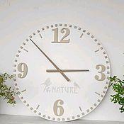 """Часы классические ручной работы. Ярмарка Мастеров - ручная работа Часы настенные 50cм """"Nature"""". Handmade."""