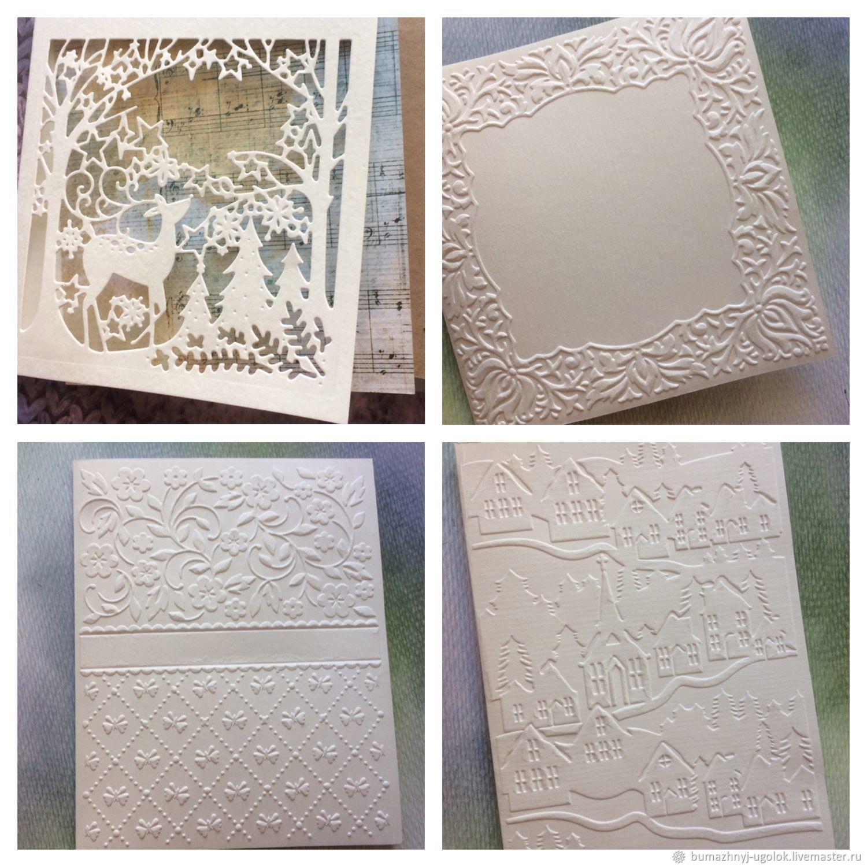 Заготовки для мастера открыток