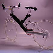 """Сувениры и подарки ручной работы. Ярмарка Мастеров - ручная работа Статуэтка """"Горный велосипед"""". Handmade."""
