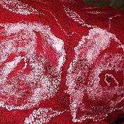 """Аксессуары ручной работы. Ярмарка Мастеров - ручная работа Шарф-паутинка """"Белые розы"""". Handmade."""