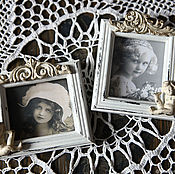 Сувениры и подарки handmade. Livemaster - original item VINTAGE CHARM.  Small photo frames.. Handmade.