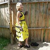 Одежда ручной работы. Ярмарка Мастеров - ручная работа Чёрная курица  платье. Handmade.