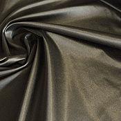 Материалы для творчества handmade. Livemaster - original item Fabric cotton satin color satin dark khaki. Handmade.