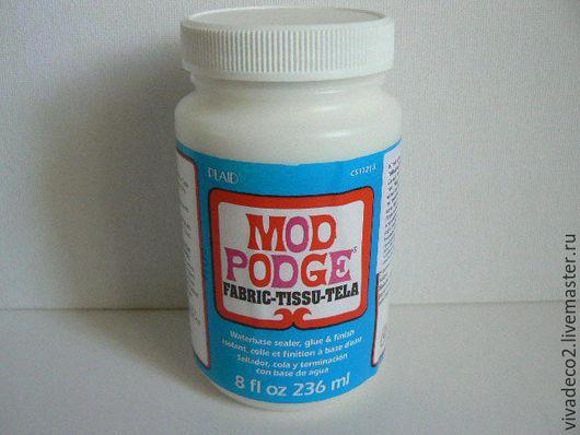 Клей для декупажа Mod Podge по ткани, 236 мл арт  11218   2/0