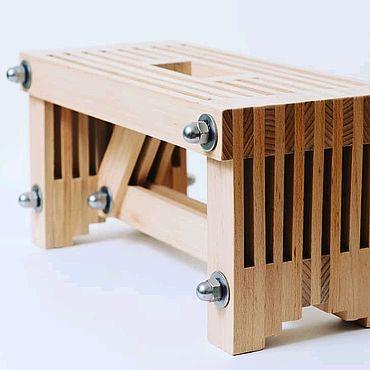 Мебель ручной работы. Ярмарка Мастеров - ручная работа Мини скамья. Handmade.