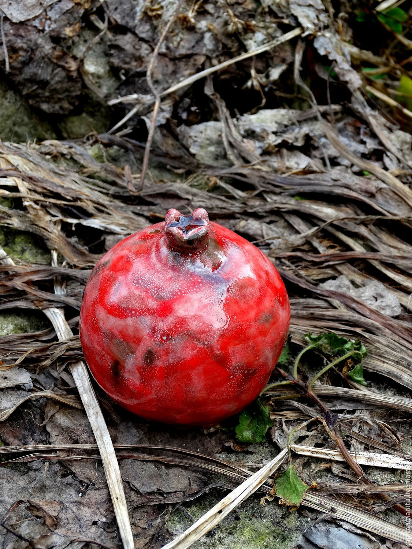 Garnet 'Red dragon', Jars, Serpukhov,  Фото №1
