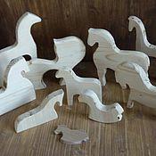 Материалы для творчества handmade. Livemaster - original item Wood horse. Handmade.