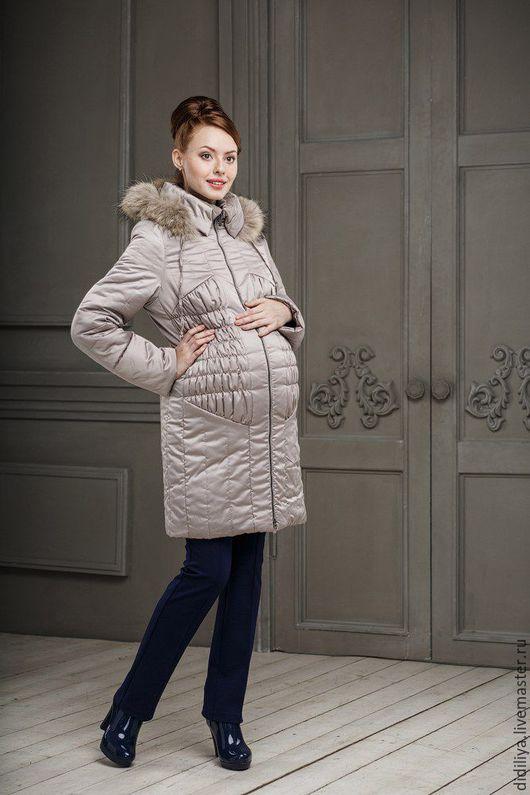 Верхняя одежда ручной работы. Ярмарка Мастеров - ручная работа. Купить Пальто Молли. Handmade. Бежевый, пальто из шерсти