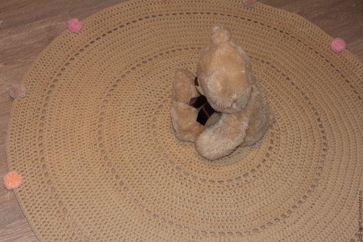 Текстиль, ковры ручной работы. Ярмарка Мастеров - ручная работа. Купить Коврик вязаный. Handmade. Коврик вязаный, коврик для детской