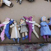 Подарки к праздникам ручной работы. Ярмарка Мастеров - ручная работа Ватная ёлочная игрушка. Handmade.