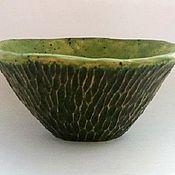"""Посуда ручной работы. Ярмарка Мастеров - ручная работа Пиала """"Мох и травы"""". Handmade."""