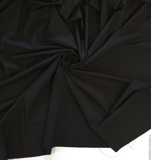 Шитье ручной работы. Ярмарка Мастеров - ручная работа. Купить Итальянская шерсть. Handmade. Черный, Итальянская шерсть