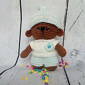 Куклы и игрушки ручной работы. Ярмарка Мастеров - ручная работа Мишка малышка. Handmade.