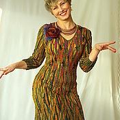 """Одежда ручной работы. Ярмарка Мастеров - ручная работа Платье """"Осень теплая"""" продано. Handmade."""
