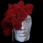 Вазы ручной работы. Ярмарка Мастеров - ручная работа Клео в красном. Handmade.