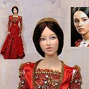 Шарнирная кукла ручной работы. Ярмарка Мастеров - ручная работа Джульетта полушарнирная портретная кукла. Handmade.