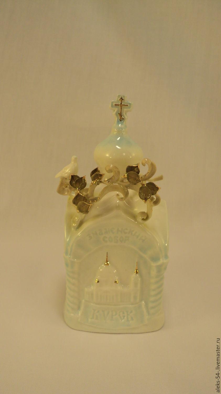 Bell porcelain 'Kursk Orthodox', Kolokolchiki, Kursk,  Фото №1