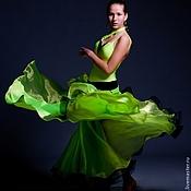 Одежда handmade. Livemaster - original item Ballroom dress  BREATH OF WIND. Handmade.