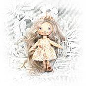Куклы и игрушки ручной работы. Ярмарка Мастеров - ручная работа Куколка кнопочка.2000 р. Handmade.