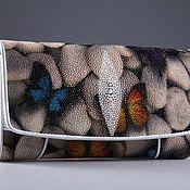 Сумки и аксессуары handmade. Livemaster - original item Wallet women leather Stingray IMC0024A58. Handmade.