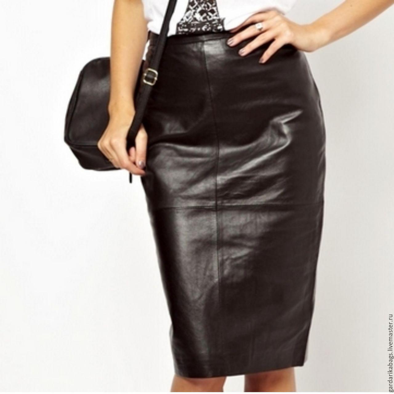 283b16420a1 Верхняя одежда ручной работы. Ярмарка Мастеров - ручная работа. Купить  Кожаная юбка карандаш.