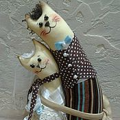 """Куклы и игрушки ручной работы. Ярмарка Мастеров - ручная работа Интерьерная игрушка """"Вместе навсегда 2"""". Handmade."""