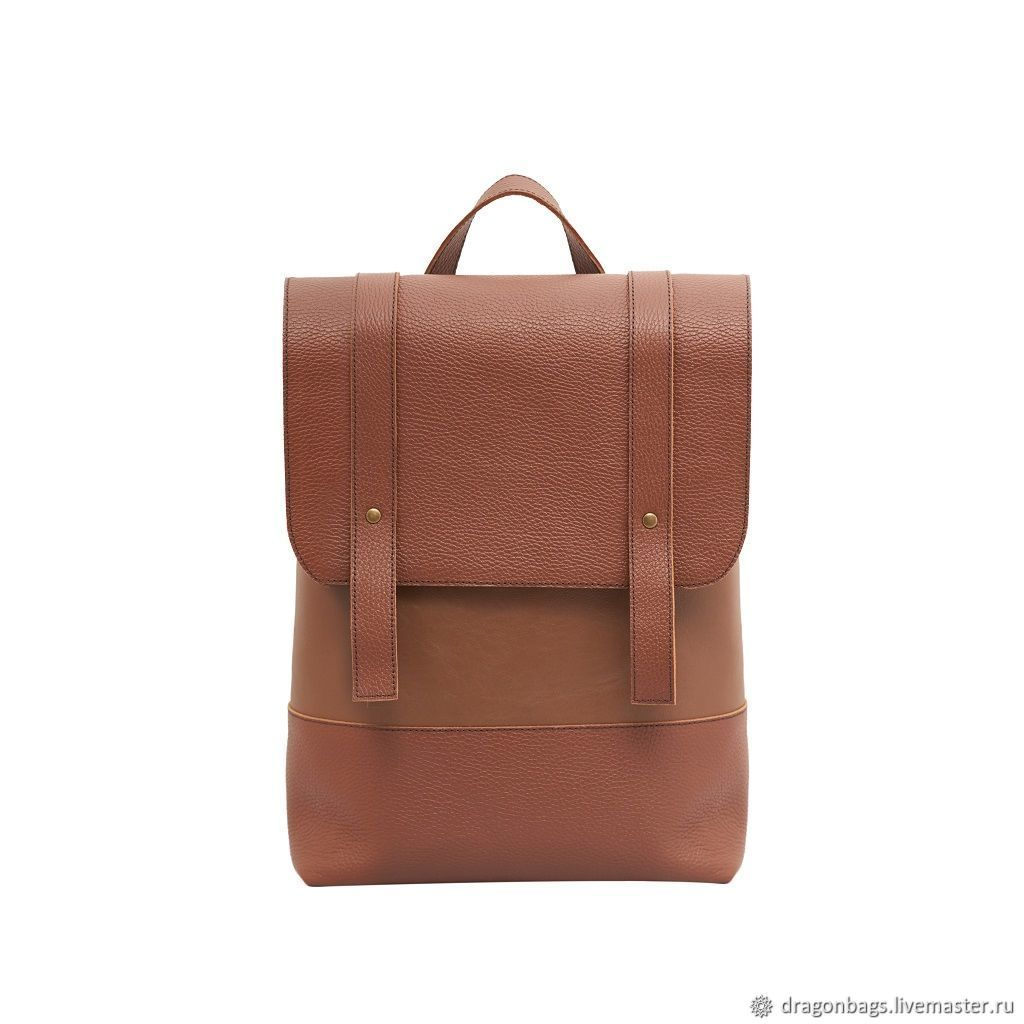 Leather backpack for women ' Scarlet', Backpacks, Yaroslavl,  Фото №1