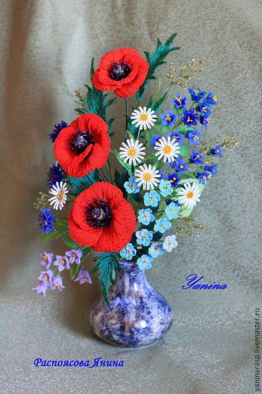 Москва полевые цветы купить
