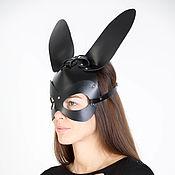 Субкультуры handmade. Livemaster - original item Mask Bunny leather. Handmade.