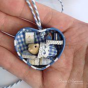 Куклы и игрушки ручной работы. Ярмарка Мастеров - ручная работа Домик в сердце. Handmade.