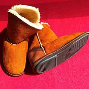 Обувь ручной работы handmade. Livemaster - original item Home ugg boots sheepskin teratologie. Handmade.