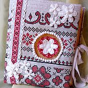 Русский стиль handmade. Livemaster - original item Photo album in folk style