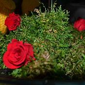 Цветы и флористика ручной работы. Ярмарка Мастеров - ручная работа Доброе мохнатое сердечко ;). Handmade.