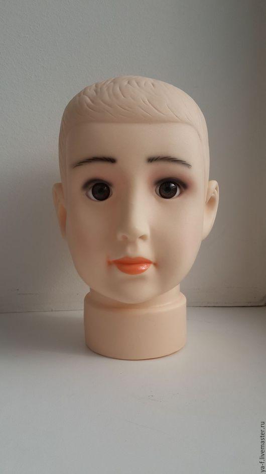 Манекены ручной работы. Ярмарка Мастеров - ручная работа. Купить Манекен детской головы. Handmade. Бежевый, манекен головы