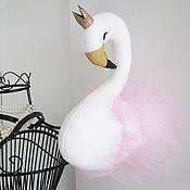 """Куклы и игрушки ручной работы. Ярмарка Мастеров - ручная работа Настенная игрушка """"Принцесса-лебедь"""". Handmade."""