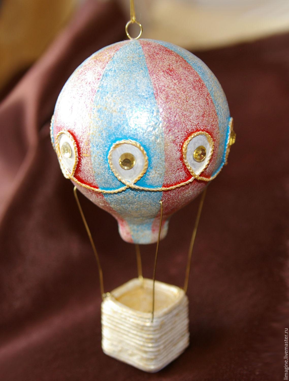 Новогодняя игрушка своими руками из папье-маше