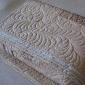 Для дома и интерьера ручной работы. Ярмарка Мастеров - ручная работа Комплект - покрывало и подушки. Handmade.