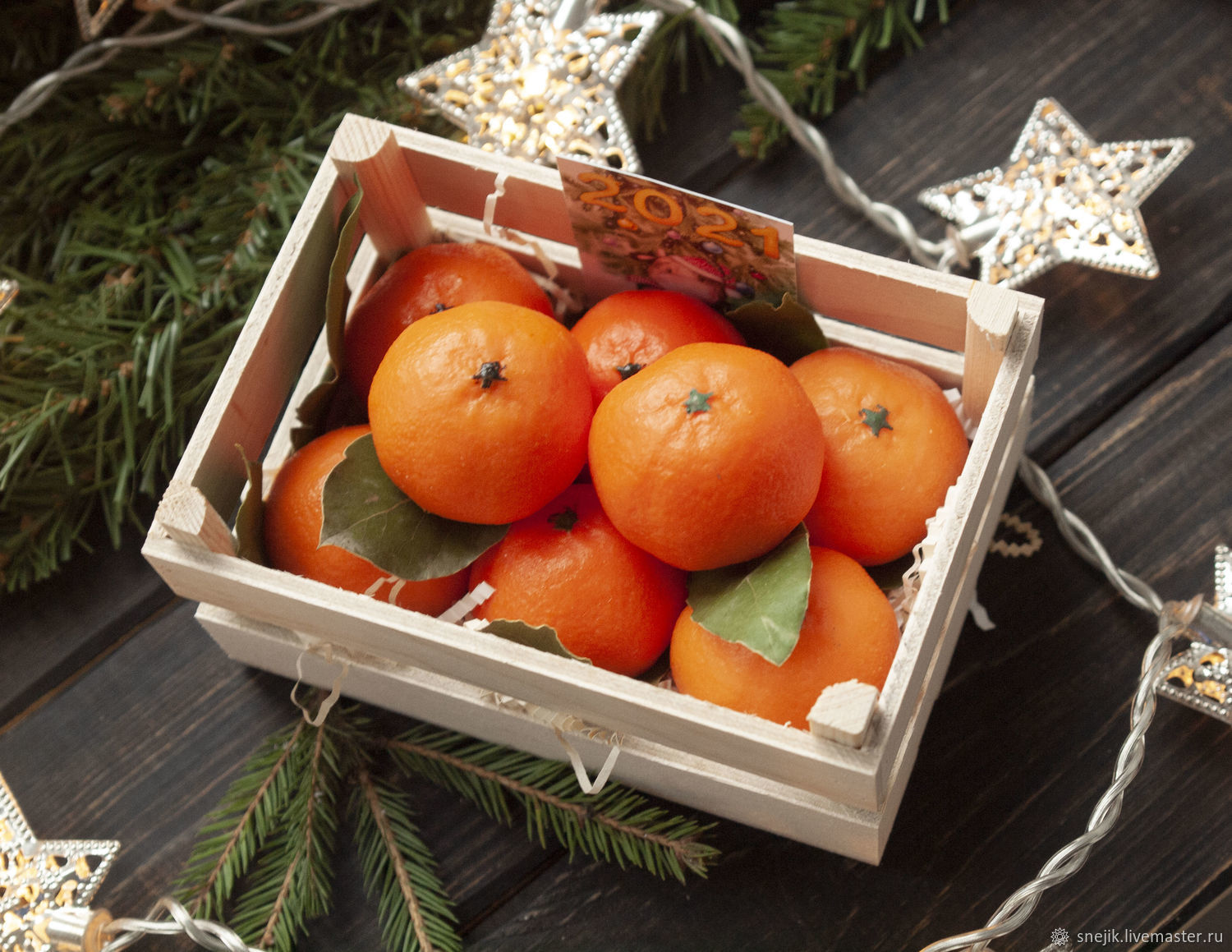A gift for the New Year 'Box of Mandarin', Cosmetics2, Moscow,  Фото №1