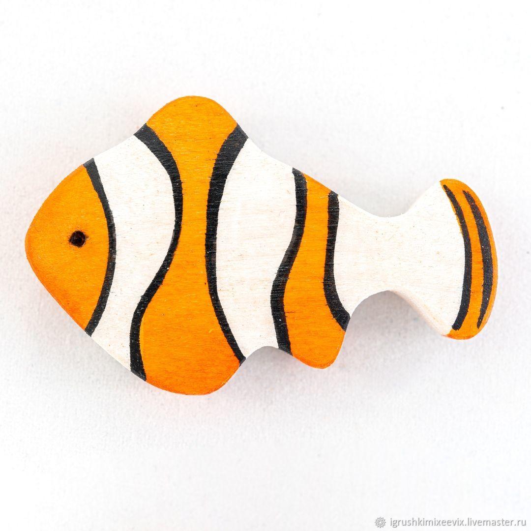 Рыбка клоун, Вальдорфские куклы и звери, Смоленск,  Фото №1