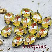 Материалы для творчества handmade. Livemaster - original item Rhinestones in the dapples 7/10 mm Lemon Lollipop. Handmade.